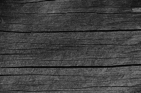Holzbrett Brett Grau Schwarz Holz Tar Lack-Beschaffenheit Detail, Große Alte im Alter von Dark Gray Detaillierte Cracked Holz Rustikal Makronahaufnahme Muster, Blank Leer Horizontal grob strukturiertem Textfreiraum Grunge Verwittert Jahrgang Fenster und Türen Gemalter Hintergrund Standard-Bild - 45465090