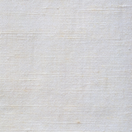 white canvas: Natural Bright White Flax Fiber Linen Texture, Detailed Macro Closeup, rustic crumpled vintage textured fabric burlap canvas pattern, beige copy space Stock Photo