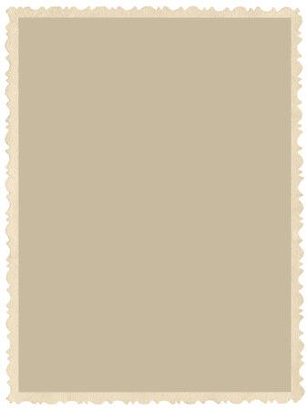 Oude oude grunge rand sepia foto, lege lege verticale achtergrond, geïsoleerde geel beige vintage foto picture card grens frame, Retro ansichtkaart kopie ruimte, grote gedetailleerde close-up
