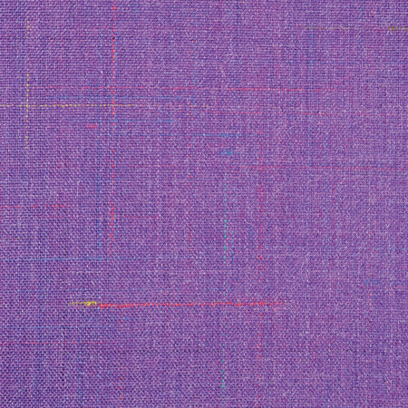 blue stripe: Violet Vintage Tweed Wool Fabric Background Texture Pattern, Large Detailed Vertical Textured Macro Closeup, Purple, Yellow, Blue, Red, Green Stripe Mixture Detail, Rough Casual Style Textile Stock Photo
