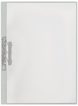 background texture metaphor: Vertical clipboard, blank empty isolated white paper file copy space sheet texture background, large detailed closeup, communication concept metaphor