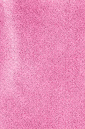 Pink natural handmade aquarelle watercolours paint texture pattern, vertical textured watercolor paper painting macro closeup, painted copy space background Stock Photo