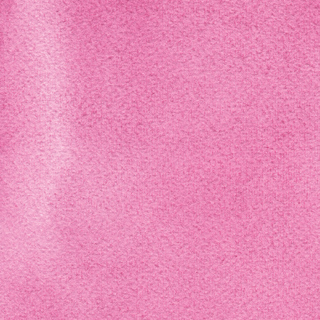 Pink natural handmade aquarelle watercolours paint texture pattern, horizontal textured watercolor paper painting macro closeup, painted copy space background Stock Photo