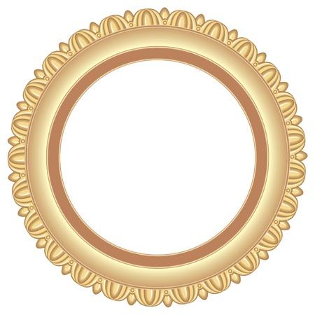 circular frame Stock Vector - 9962784