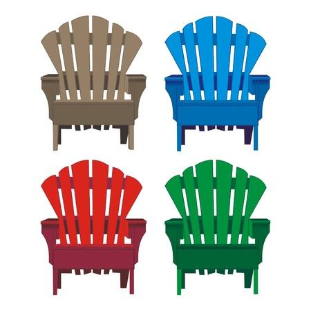 chair_wooden Vector