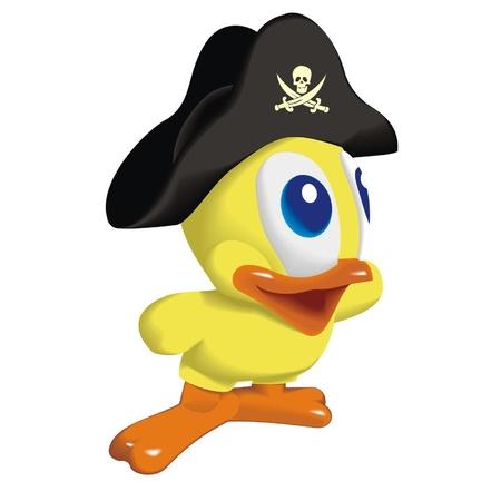 duck_pirat Vector