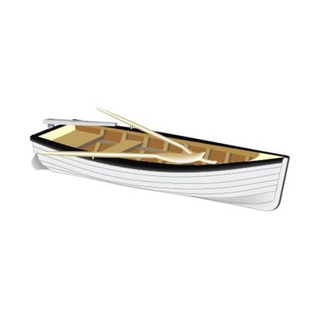barca da pesca: barca Vettoriali
