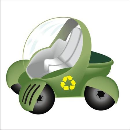 ecology car Stock Vector - 13058278