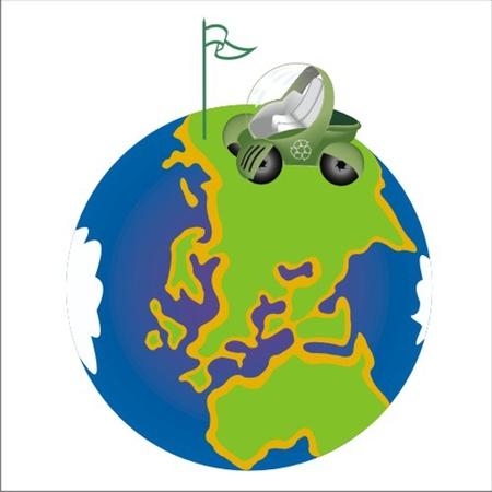 ecology car Stock Vector - 13058320