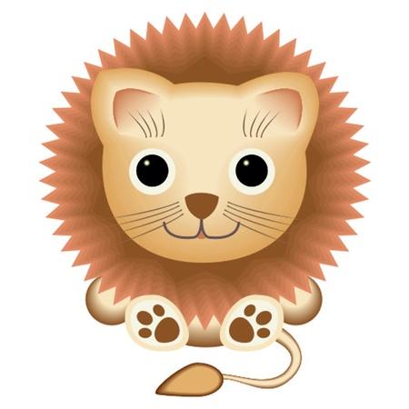 leon de dibujos animados: León Vectores