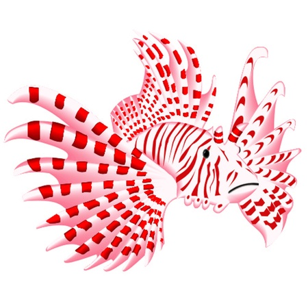 pterois Vector