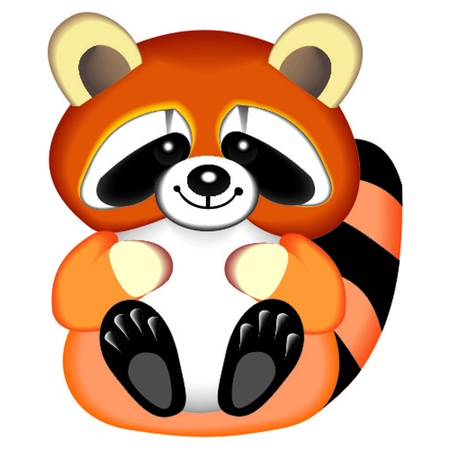 raccoon Stock Vector - 13058339