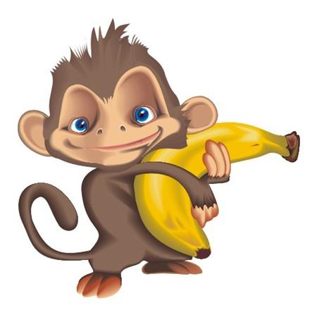 monkey Stock Vector - 13324872