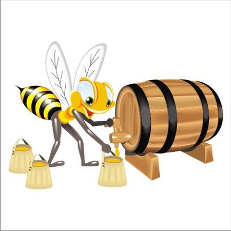 honeyed: bee