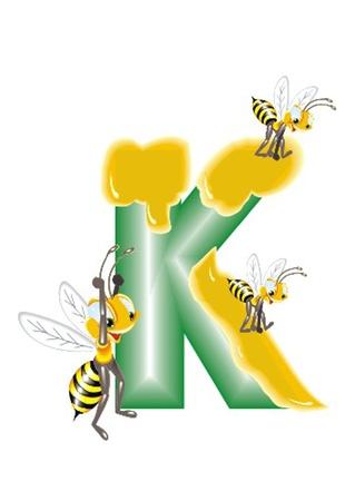 letter K Stock Vector - 13330290