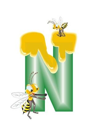 letter N Stock Vector - 13330272