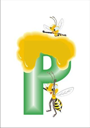 letter P Vector