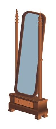 Pier-glas Vector Illustratie