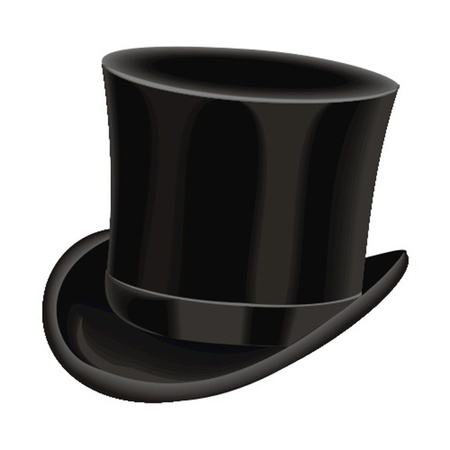 gentleman: hat Illustration