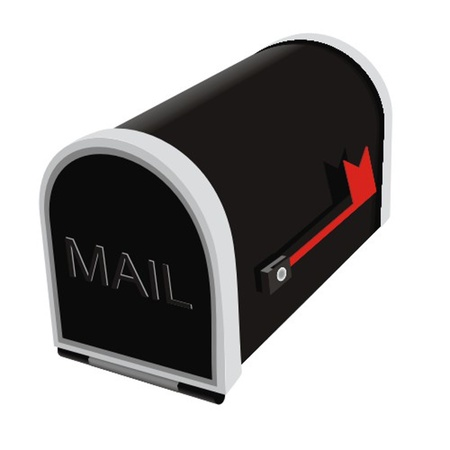 closed mail box Stock Vector - 13330127