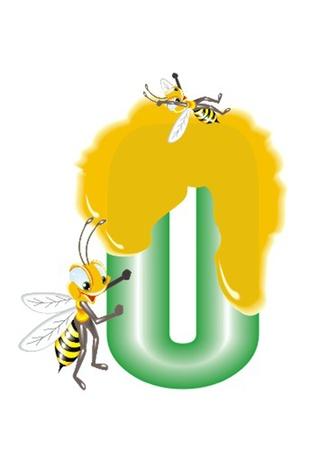 alphabet wallpaper: letter 0 Illustration