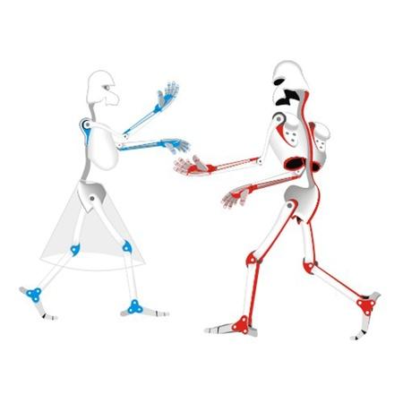 robots_dancing Vector