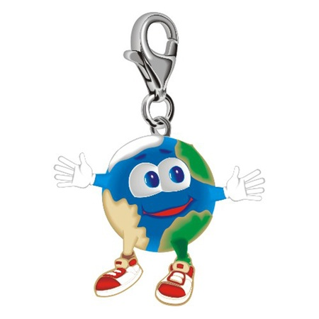 Planet_key_ring Vector
