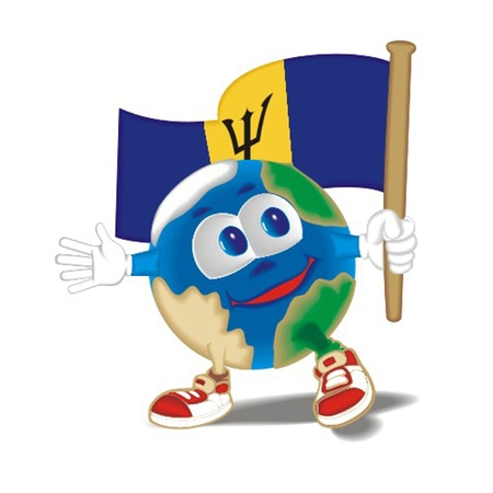 Planet_with_flag_Belgium Vector