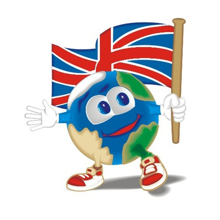 Planet_with_flag_Britan Vector
