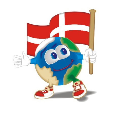 Planet_with_flag_Denmark Vector