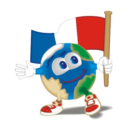 perimeter: Planet_with_flag_France
