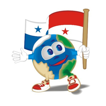 Planet_with_flag_panama Stock Vector - 13438453