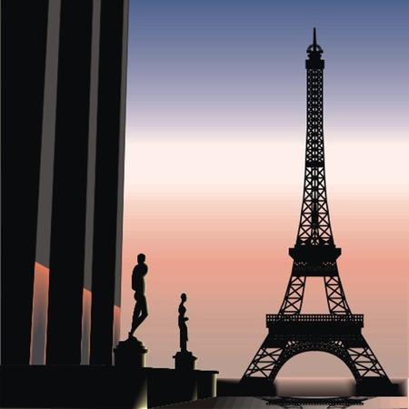 paris Stock Vector - 13438017