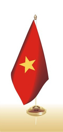 flag_vietnam Stock Vector - 13438021