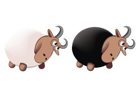 ram_butt Stock Vector - 13438130