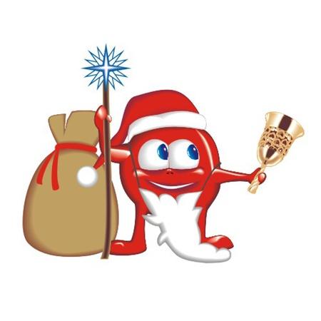 morose: vitamin_Santa Illustration