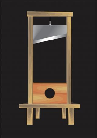guillotine: guillotine Illustration