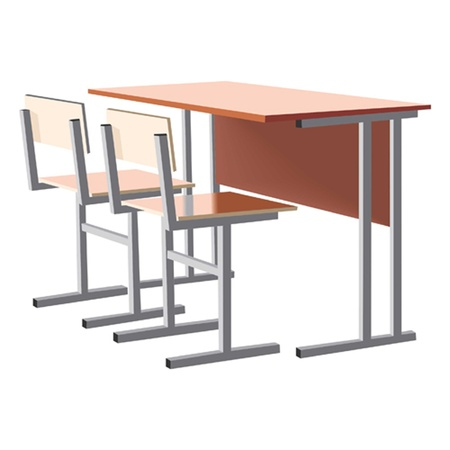 school desk Vector
