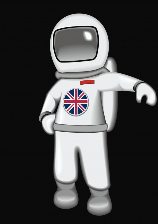 britan: astronaut Britan