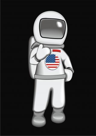 astronaut USA