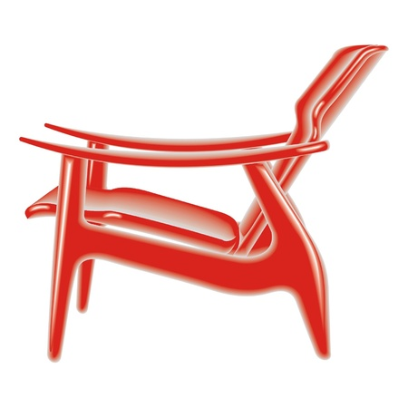 red chair Stock Vector - 17365182