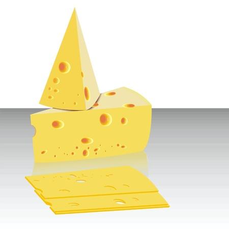 parmigiano: formaggio Vettoriali