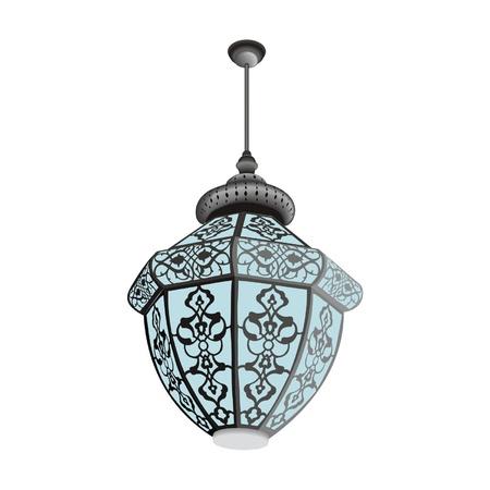 Oriental lamp hanging