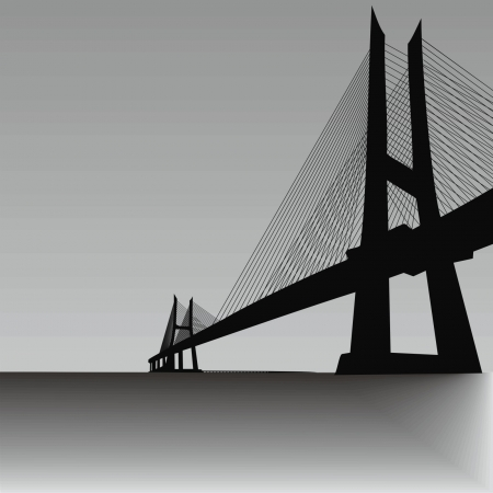bridge-overpass Vector