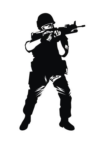 rifleman: warrior