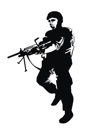 crouching: warrior