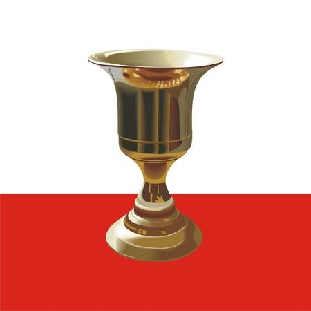 golden cup Stock Vector - 21617037