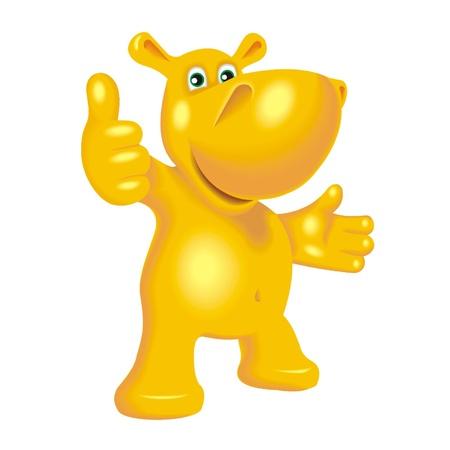 Nijlpaard Stockfoto - 21699633
