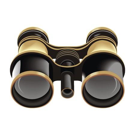 binoculars Vector
