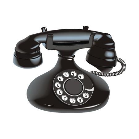 telephone switchboard: old phone
